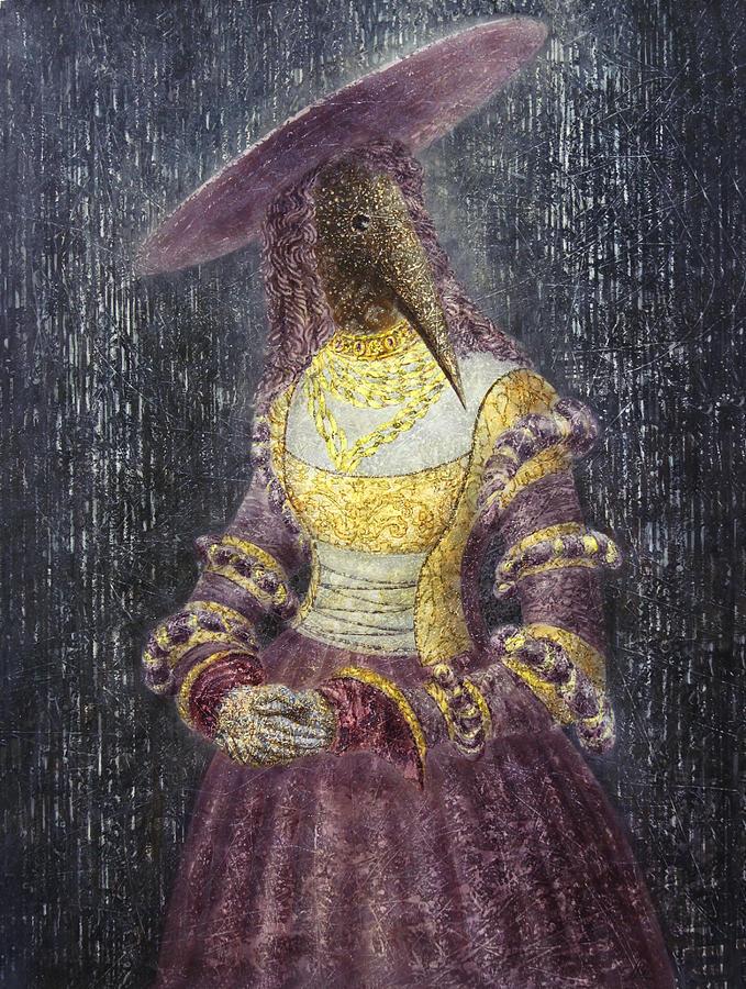Rain Painting - In The Rain by Lolita Bronzini