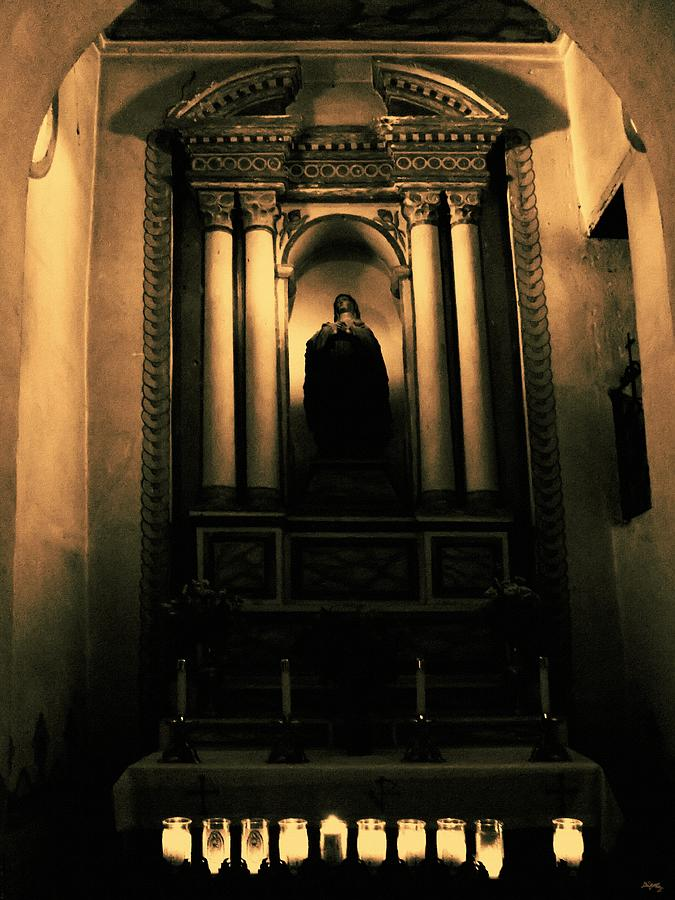 Mission San Luis Rey Photograph - In The Sanctuary by Glenn McCarthy Art and Photography