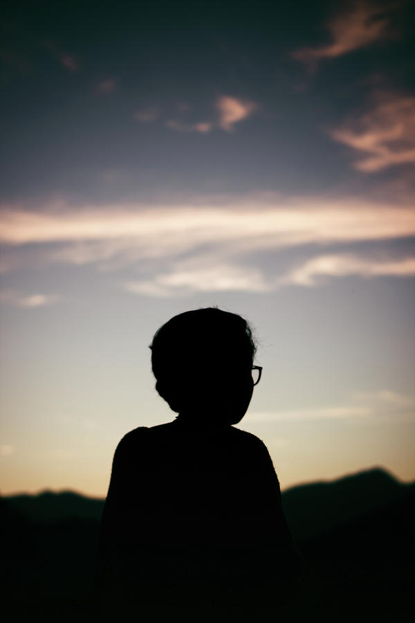 Portrait Photograph - In The Shadow Of Sunrise. by Lincon Vidal