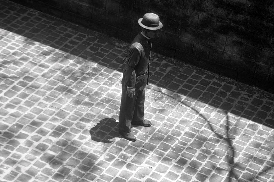 Photographer Photograph - In The Shadows by Jez C Self