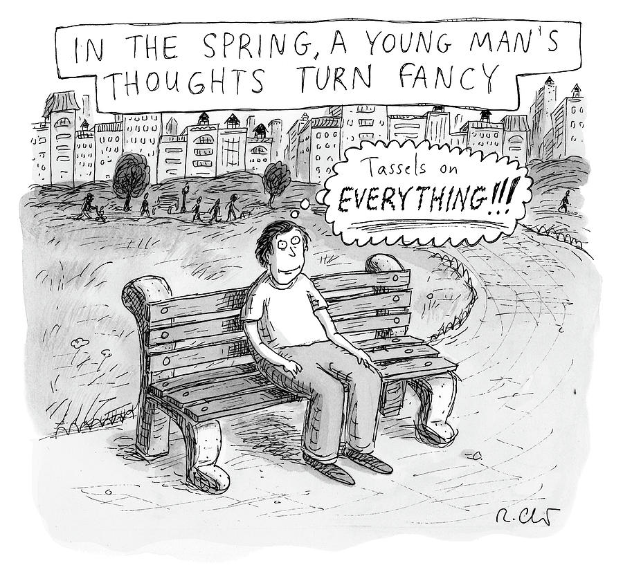 In The Spring Drawing by Roz Chast