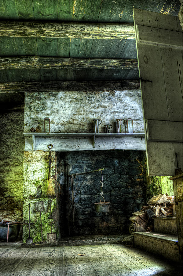Farm Photograph - In The Springhouse by Scott Wyatt