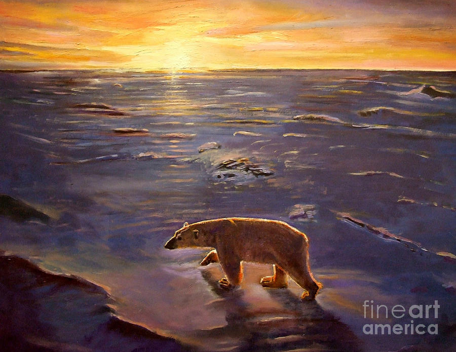 Sea Painting - In The Wilderness by Kevin Parrish