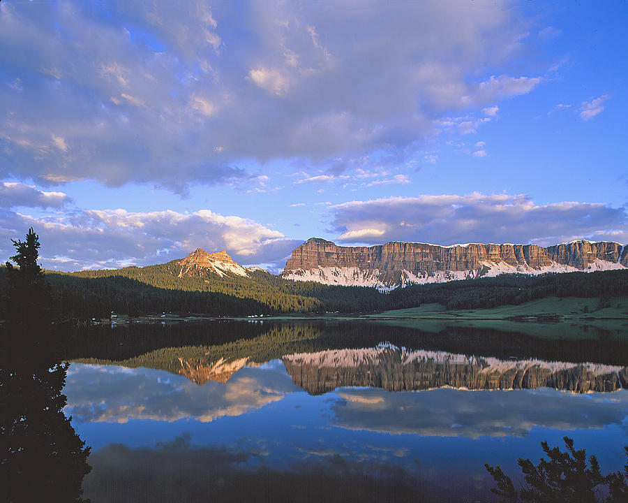 Wind River Photograph - In The Wind River Range. by Robert Ponzoni