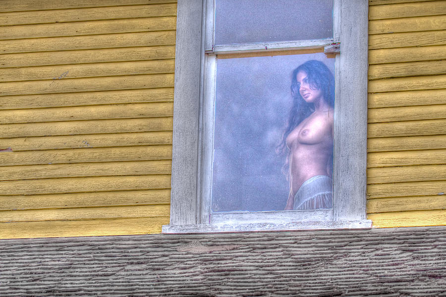 Nude Photograph - In The Window by Naman Imagery