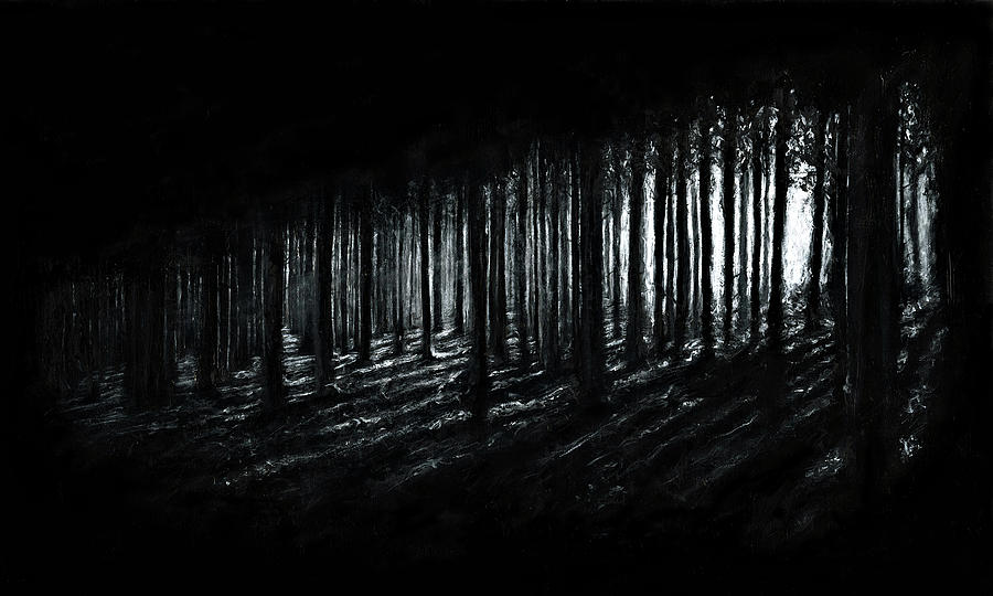 Forrest Painting - In The Woods by Christian Klute