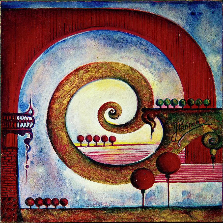 Balance Painting - In The World Of Balance by Anna Ewa Miarczynska
