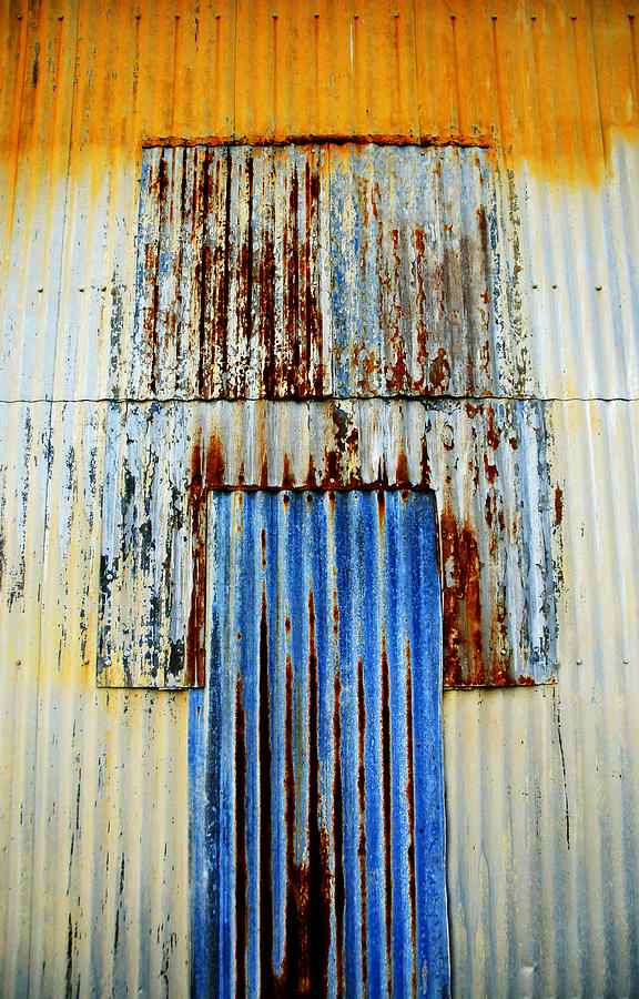 Wall Photograph - In Through The Out Door by Skip Hunt