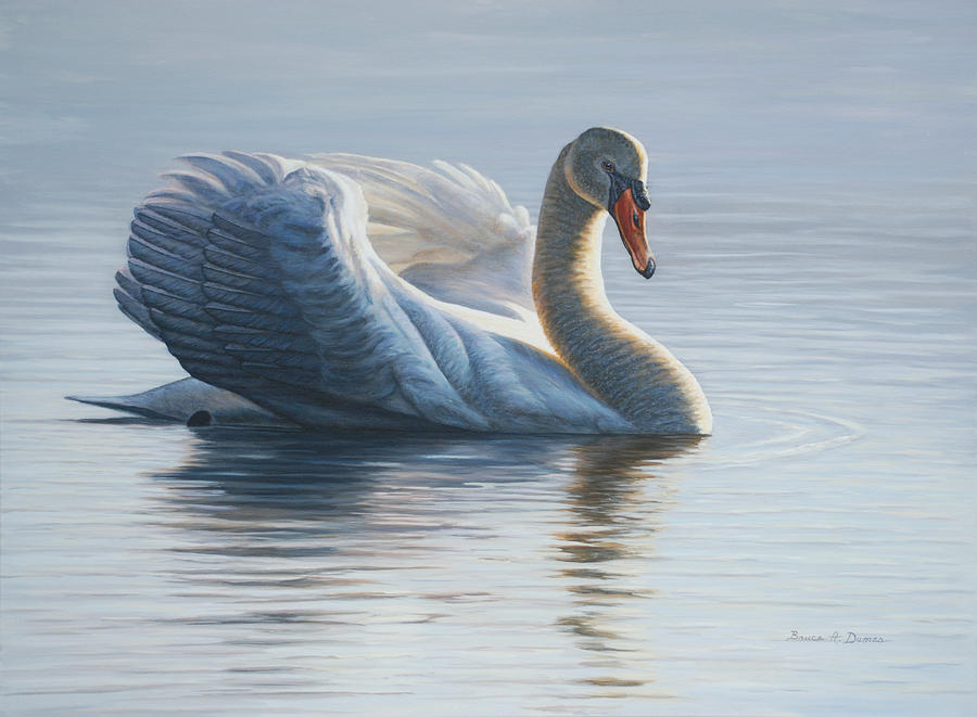 Wildlife Painting - In To The Light by Bruce Dumas