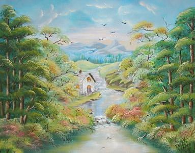 Landscape Painting - In Tune With Nature by Irene Clarke