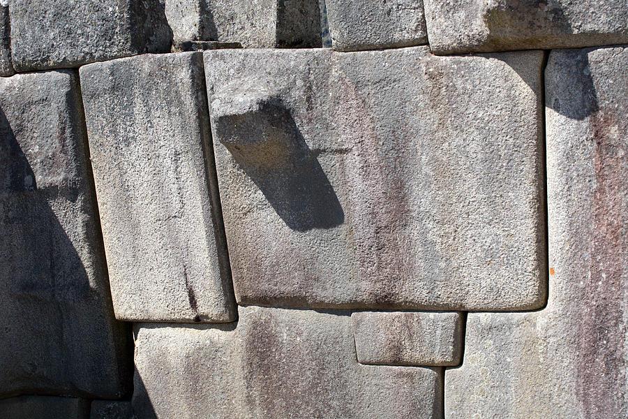 Machu Picchu Inca Wall Photograph