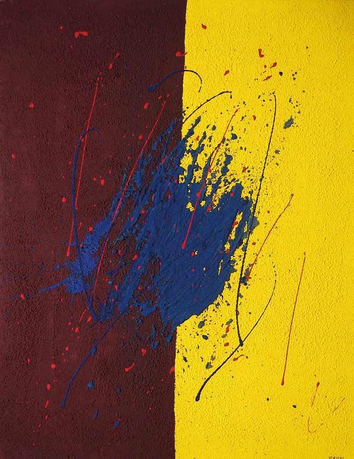 Viola Painting - Incandescenza Viola by Elio Scuderi