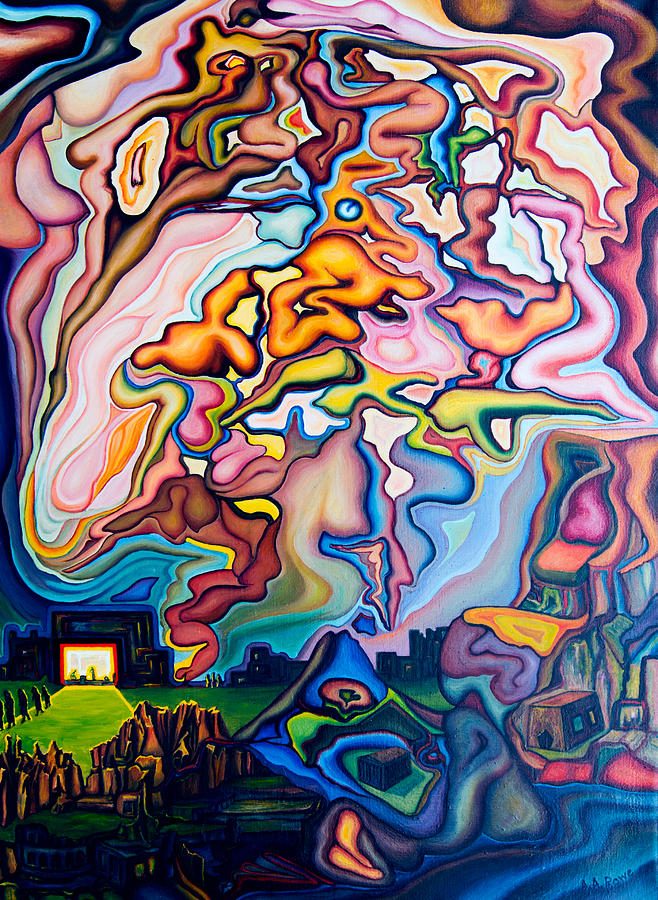 Incarnation Painting - Incarnation by Aswell Rowe