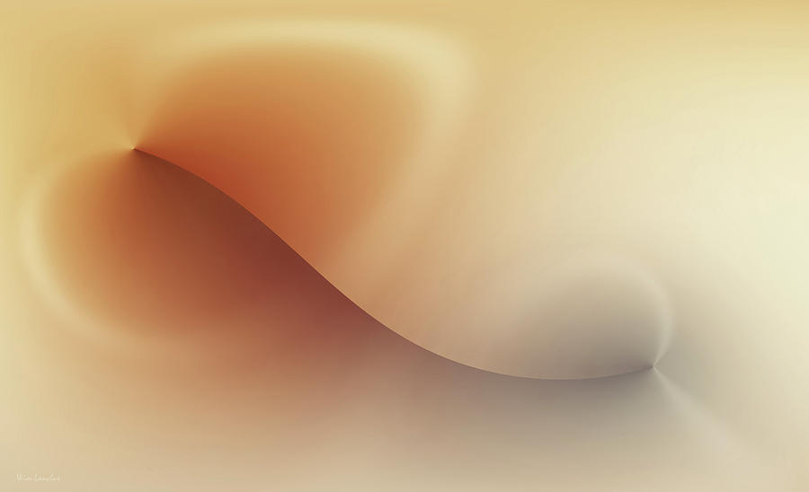 Abstract Digital Art - Incision by Wim Lanclus