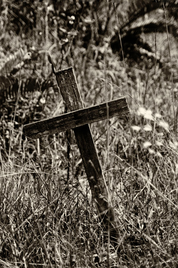 Inclined Cross by Amarildo Correa