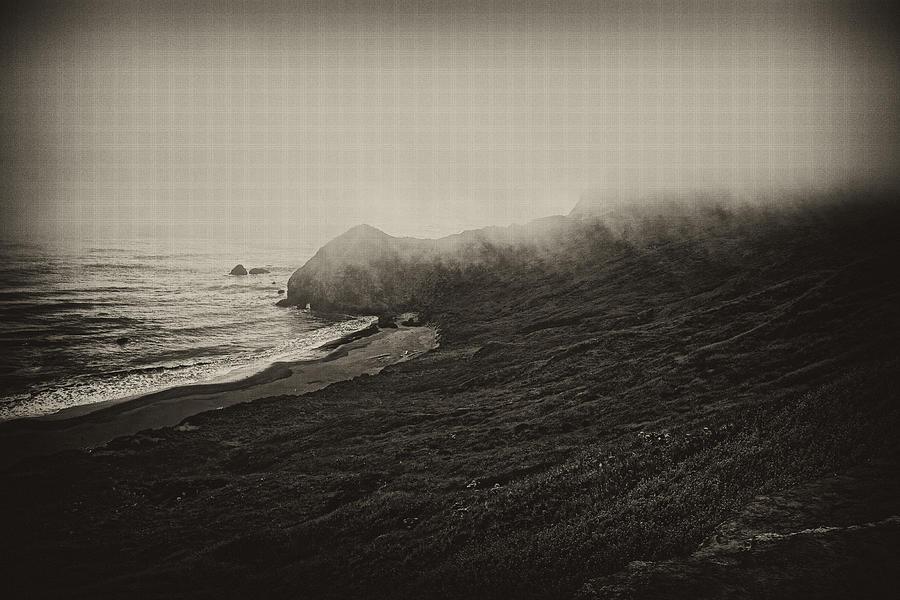 Bandon Photograph - Incoming Fog by Hugh Smith