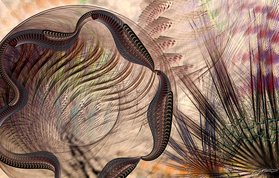 Abstract Digital Art - Incomprehension by Casey Kotas