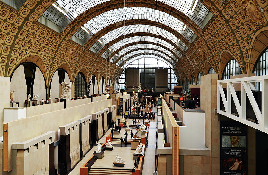 Incredible Interior Of Converted Train Station Orsay Museum Paris France