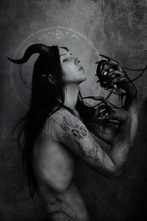 Incubus Digital Art - Incubus by Cambion Art