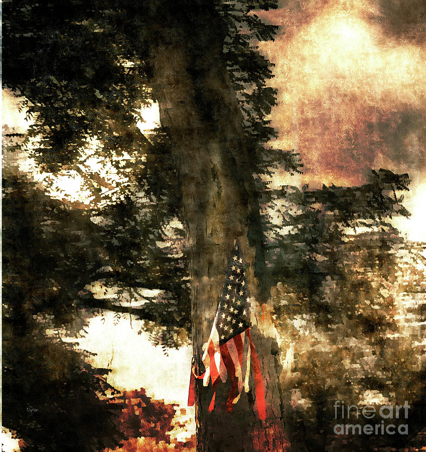 Forth Of July Photograph - Independence Day Appalachia  by Steven Digman