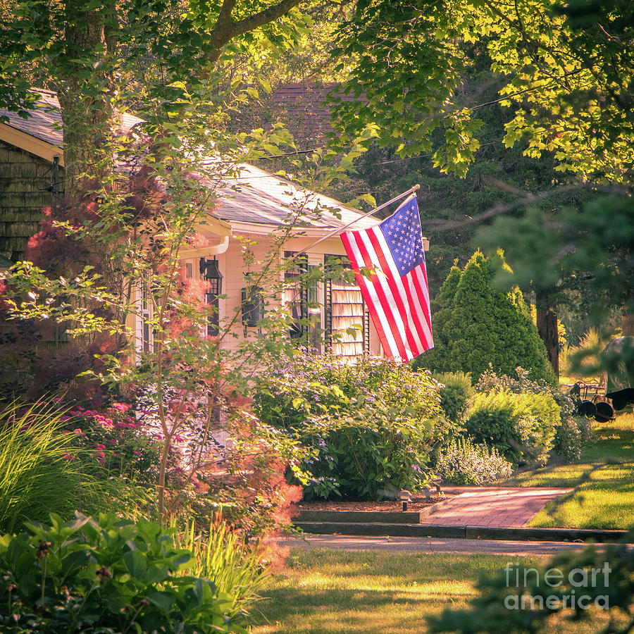 American Flag Photograph - Independence Day by Robert Anastasi
