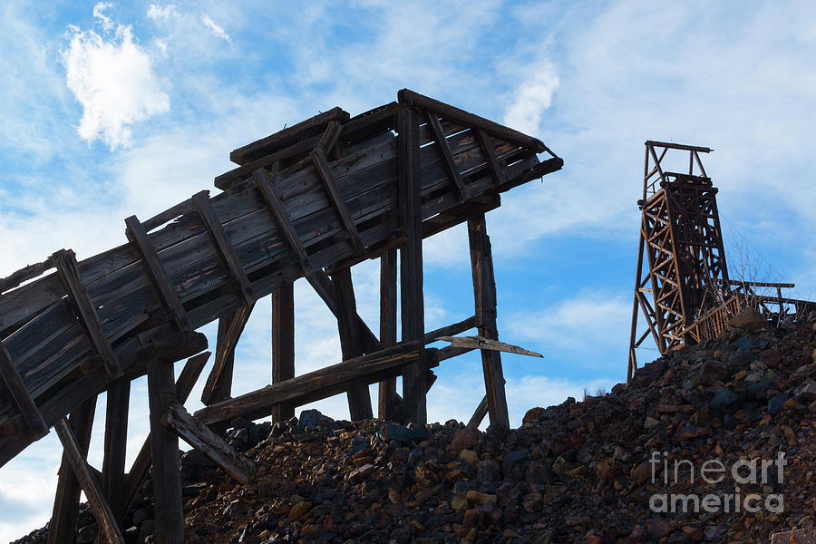 Independence Gold Mine Sky Photograph