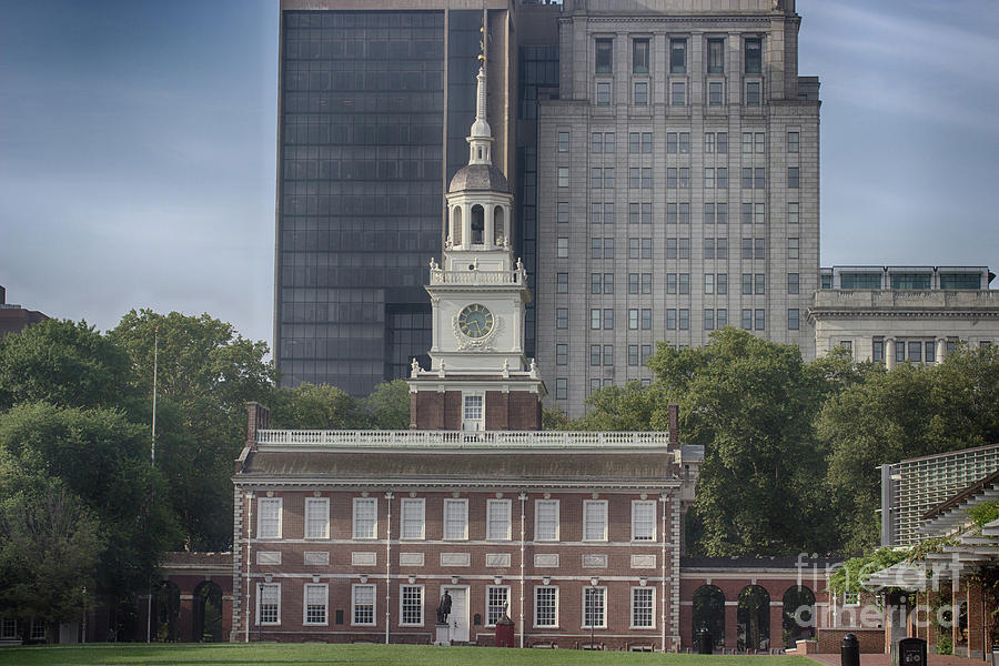 Historical Photograph - Independence Hall by Tom Gari Gallery-Three-Photography