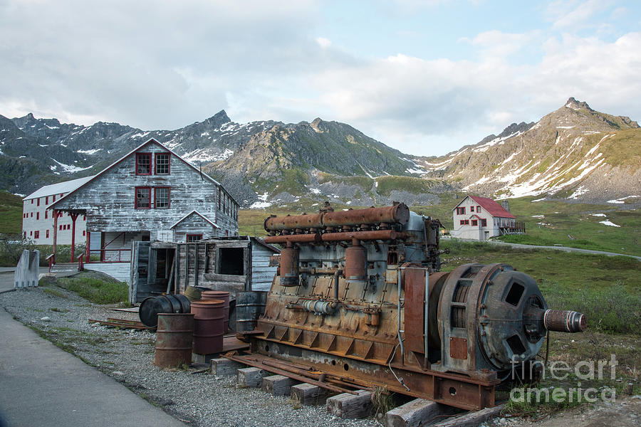 Independence Mine Photograph - Independence Mine by Paul Quinn