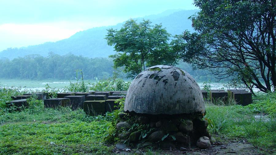 Mist Photograph - India-bhutan Border by Abir Bordoloi