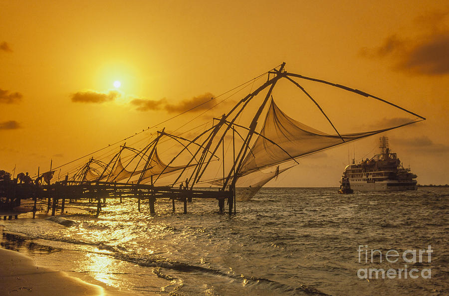 Adventure Photograph - India Cochin by Juergen Held