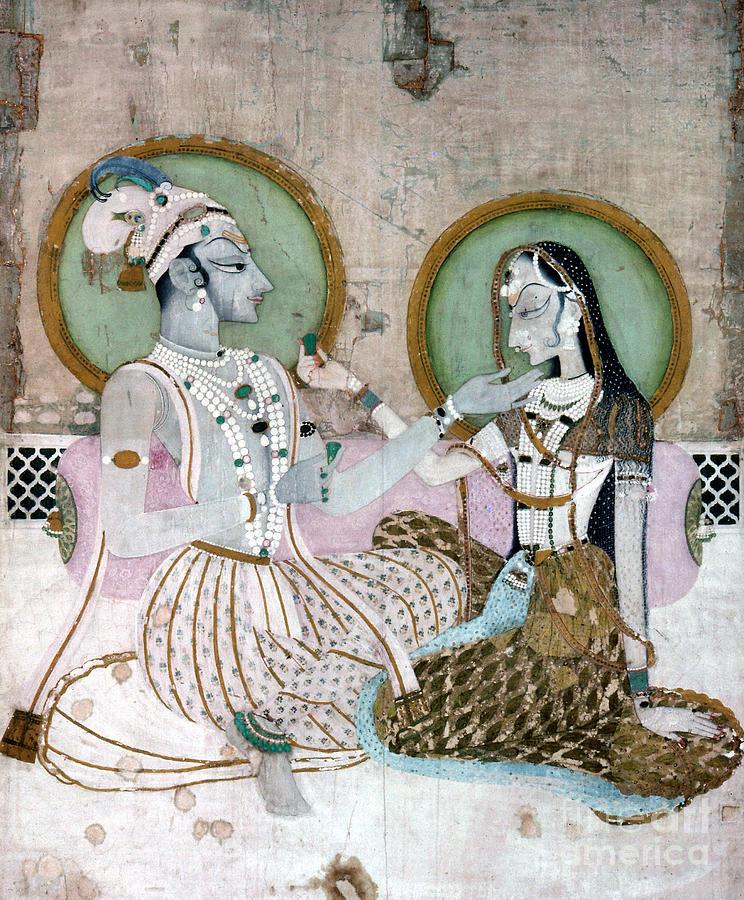 Aod Photograph - India: Couple by Granger