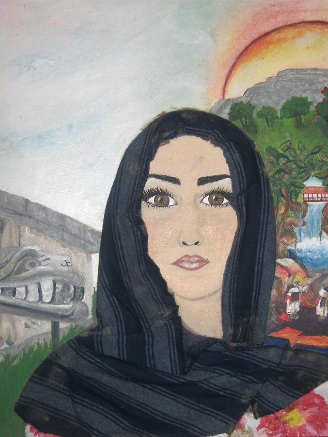India Painting by Jessica  De la Torre