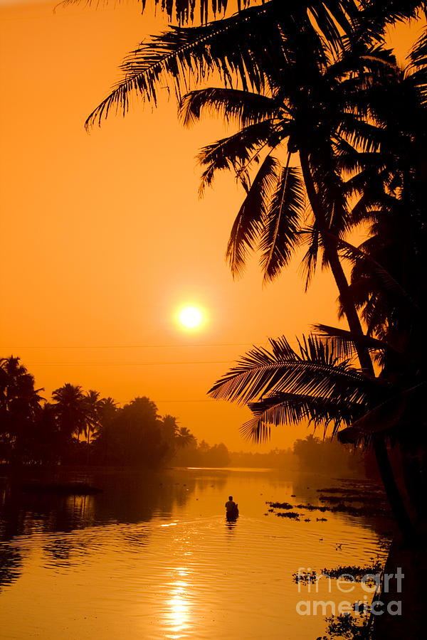 Adventure Photograph - India Kerala  by Juergen Held