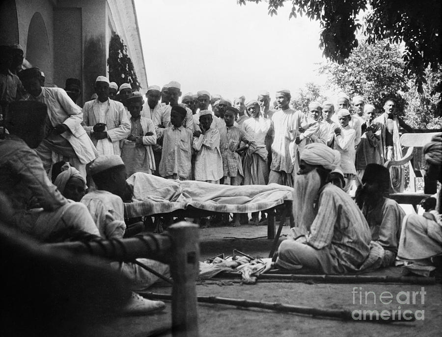 1929 Photograph - India: Malaria Play, C1929 by Granger