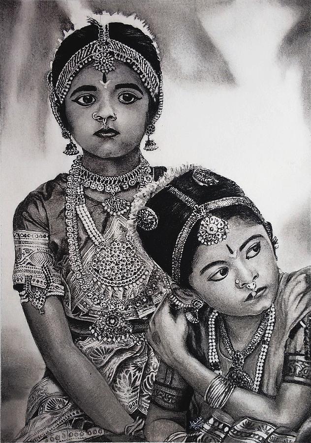 Indian Adornment Painting by Abhishek Dahiya
