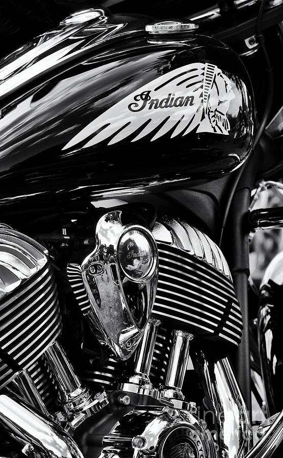 Indian Chieftain Photograph - Indian Chieftain by Tim Gainey