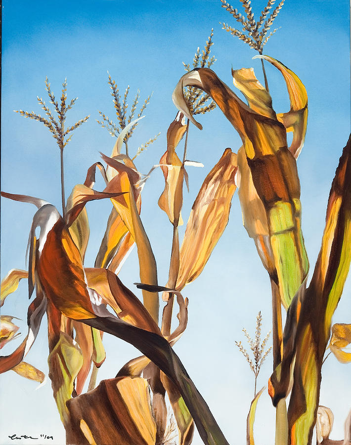 Corn Painting - Indian Corn I by Kim Estes