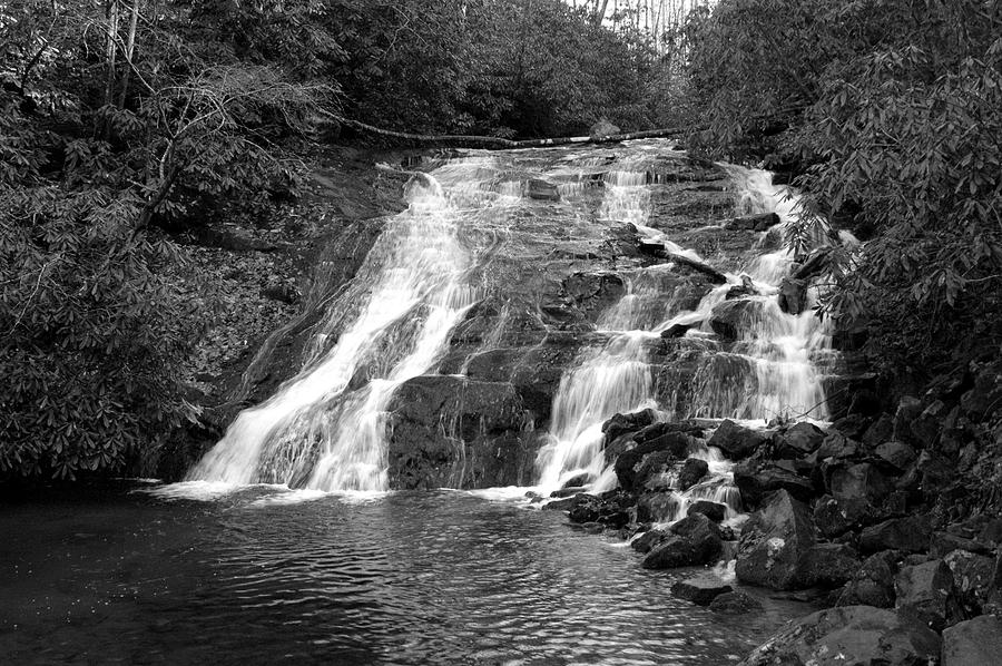 Nature Photograph - Indian Falls At Deep Creek by Kathy Schumann