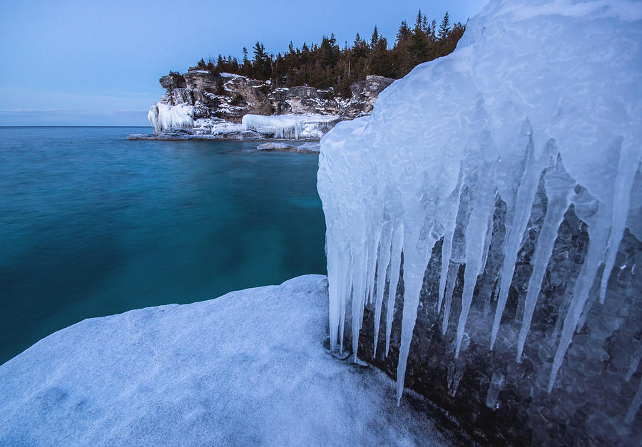 Indian Head Cove In Winter Photograph