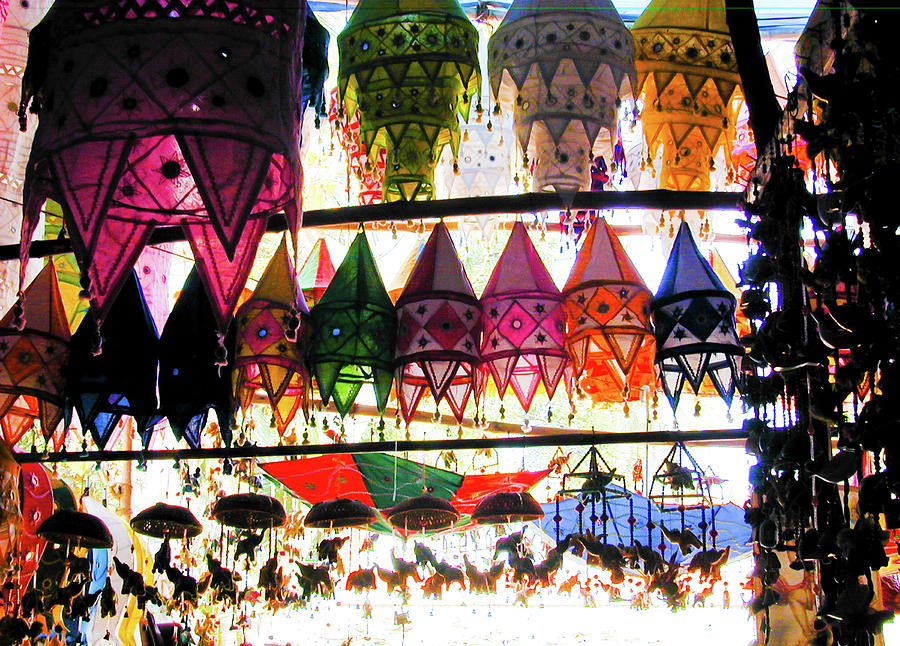 Indian Lanterns by Gavin Bates