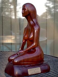 Indian Maiden Sculpture by Larry Spradling
