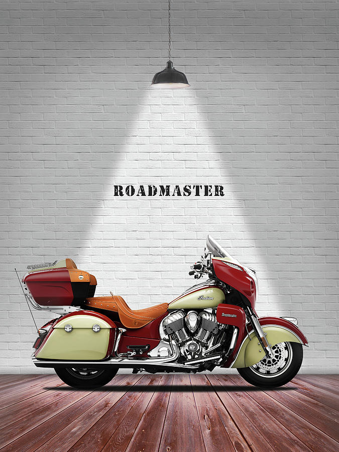 Indian Roadmaster Photograph - The Roadmaster by Mark Rogan