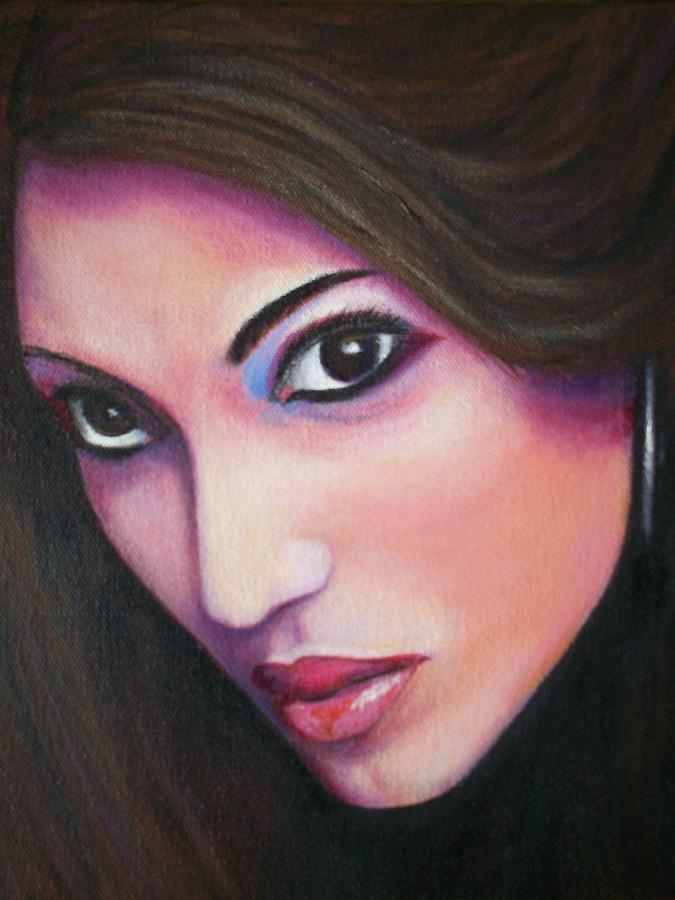 Beauty Painting - Indian Royalty by Tom Braddock