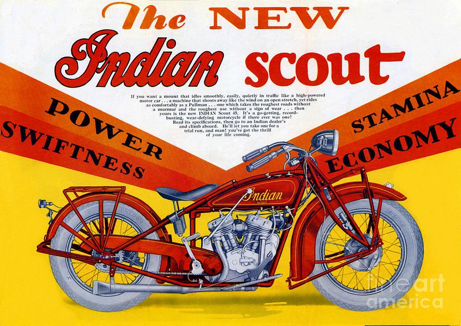 Indian Digital Art - Indian Scout by Steven Parker