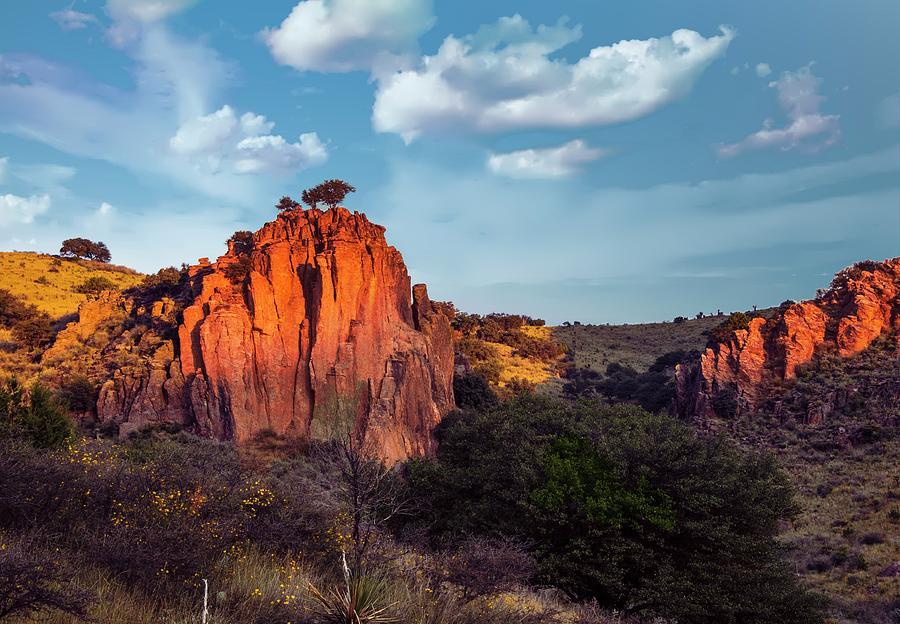 Rock Photograph - Indian springs rocks by Roy Nierdieck