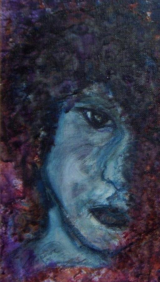 Jim Morrison Painting - Indian Summer Dream Detail by Cathy Minerva