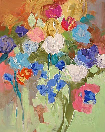 Original Painting - Indian Summer by Linda Monfort