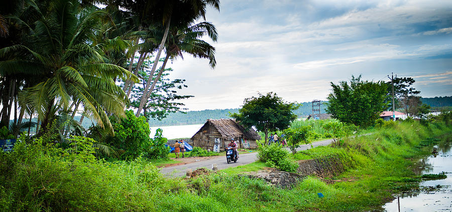 India Photograph - Indian Village by Sunman
