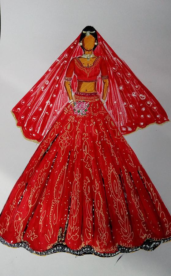 Fashion Indian Dresses Fashion Design Sketches