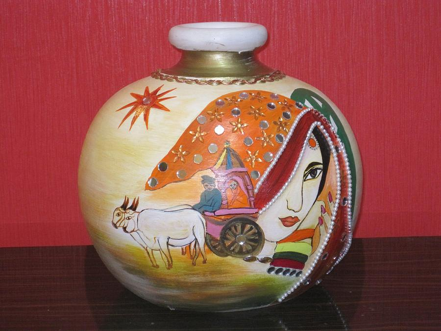 Indian Ceramic Art by Xafira Mendonsa